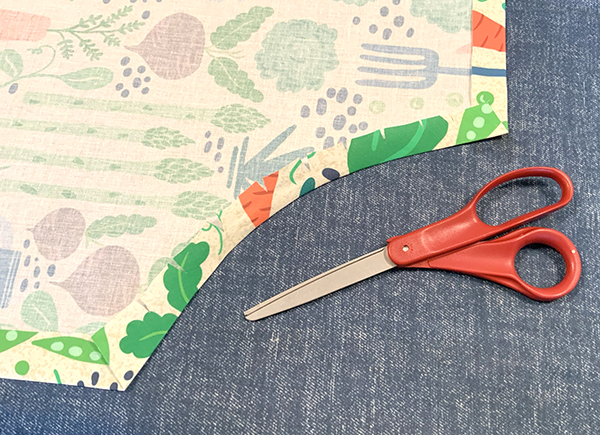 sew and apron sewing project