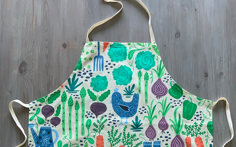 sew and apron